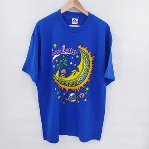 Vintage Jimmy Buffett Tour Blue T-Shirt